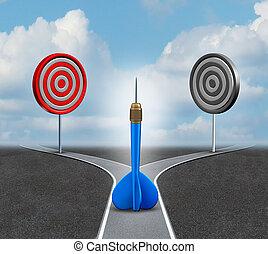 strategie, beslissing