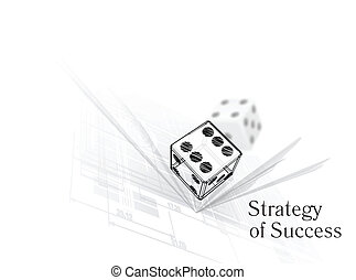 strategie, für, erfolg