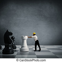 strategie, in, zakelijk