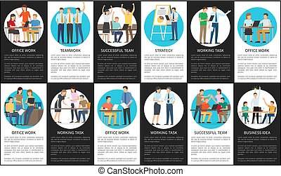 Strategy and Business Idea Vector Illustration