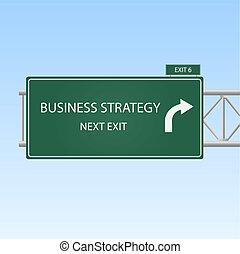 "strategy""., ""business, image, signe, sortie, autoroute"