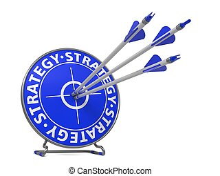 Strategy Concept - Hit Target.
