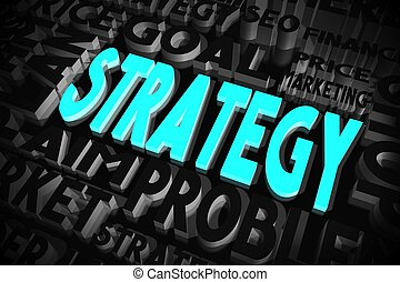 Strategy concept
