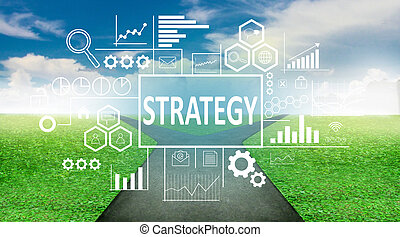 Strategy in Business Concept