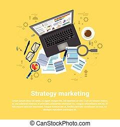 Strategy Marketing Plan Business Web Banner