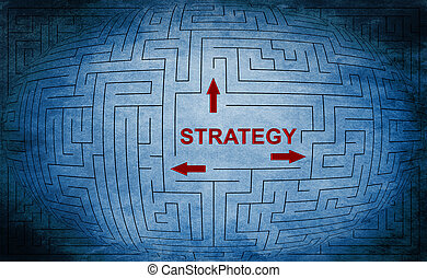 Strategy maze concept