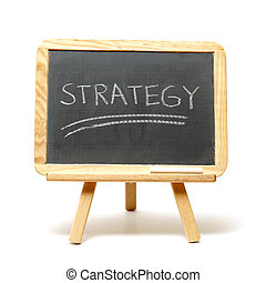 Strategy - A simple tactic in success is to have strategy.