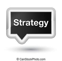 Strategy prime black banner button