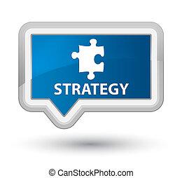 Strategy (puzzle icon) prime blue banner button