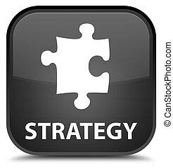 Strategy (puzzle icon) special black square button