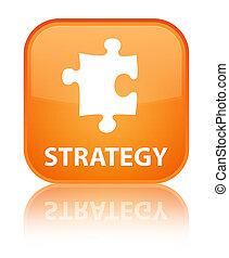 Strategy (puzzle icon) special orange square button