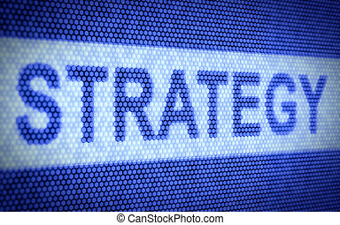 Strategy screen