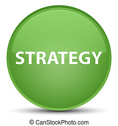 Strategy special soft green round button