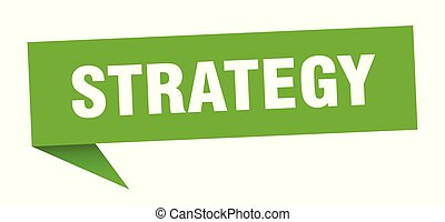 strategy speech bubble. strategy sign. strategy banner