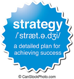 Strategy symbol - Strategy illustrated