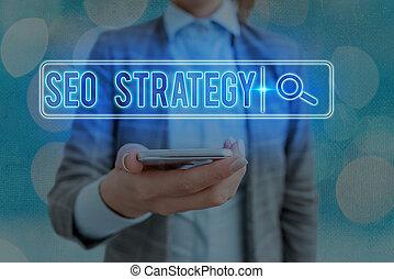 strategy., tecnica, esposizione, visitatori, aumento, connection., tecnologia, foto, web, testo, concettuale, digitale, sito web, ricerca, informazioni, seo, futuristico, rete, tattica, segno