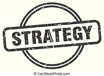 strategy vintage stamp. strategy sign