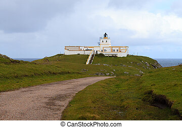 Strathy Point Lighthouse