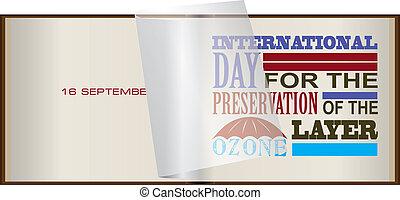 strato ozono, giorno, conservazione
