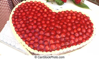 Stravberry Flan