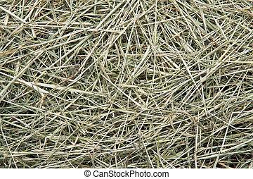 Straw  as background