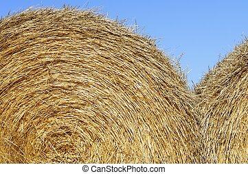 straw bale