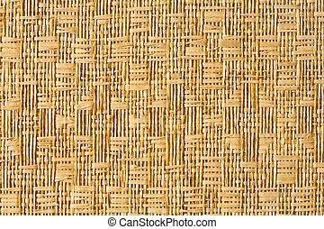 Straw mat - Close up straw matt texture