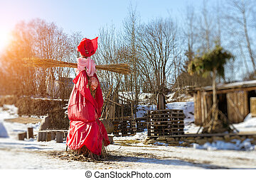 Straw Scarecrow of Shrovetide