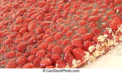 Strawaberry Flan