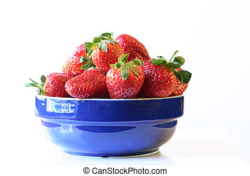 Strawberries bowl