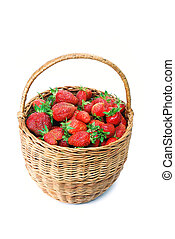 strawberries in a basket 2