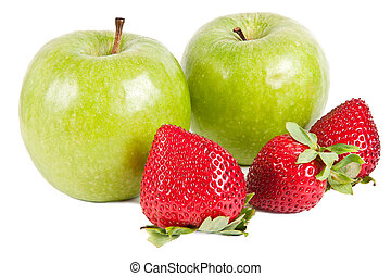 Strawberry and Apple