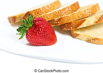 Strawberry and Bread