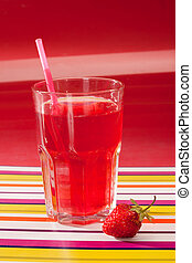 strawberry beverage