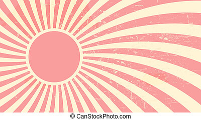 Strawberry, cream abstract hypnotic background. vector...