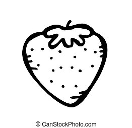strawberry doodle