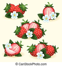Strawberry freshness fruit set