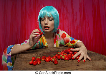 Strawberry Hunger