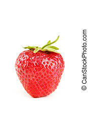 Strawberry isolated on a white