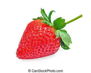 Strawberry isolated on white background