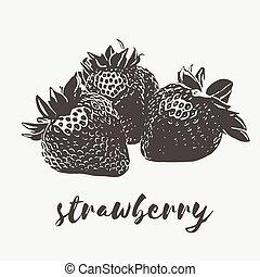 Strawberry organic vegan