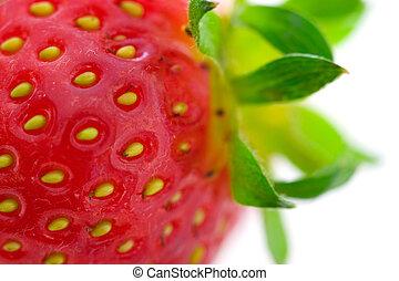 Strawberry - Macro of strawberry