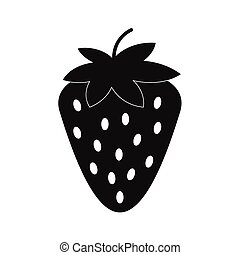 Strawberry simple icon