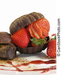 Strawberry stuffed s