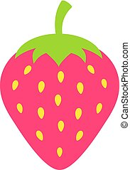 Strawberry vector icon