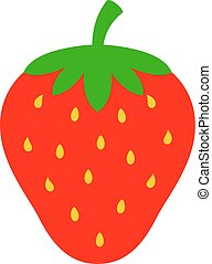 Strawberry vector icon