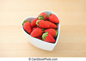 Strawberry with love