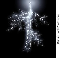 Streak Lightnings - Storm - Abstract image of the streak...