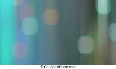 streaks movie with bokeh effect - blurred streaks movie with...