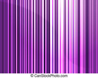Streaks of multicolored light